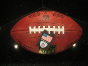 NFL Personalized Laser Engraved Football