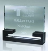 Clear Glass Awards, Horizontal Classic Glass Award