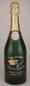 Personalized Etched Wine or Champagne Bottles - ConGRADuation - Congratulations from Bigheadawards.net