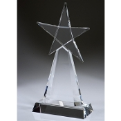 """Crystal Star Awards, Corporate Crystal Star Awards, Crystal Star Trophies, Corporate Crystal Star Trophies, Corporate Star Trophies, Engraved Crystal Star Awards"""