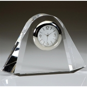"Over the Rainbow Crystal Clock - Size 4""H"