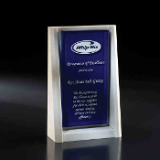 "The Paramount Crystal Award is available in 8""Height"