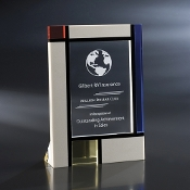 "The Mandrion Crystal Award is available in 8 1/2""Height"