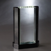 "The Crystal Felicity Award is available in 9""Height"