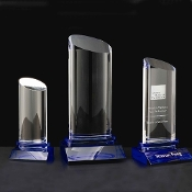 "The Krave Crystal Award is available in 11""Height"