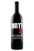 Dirty 30 Personalized Etched Wine Bottle